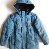 Разм.116-122. Куртка S.Oliver зимняя.