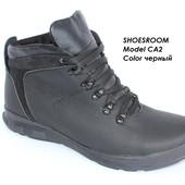 Отличная цена!Мужские кожаные зимние ботинки на меху 40-45