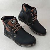 Ботинки Зима Кожа Ava в 4-х цветах