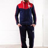 Мужской спортивный костюм трехнитка с начесом