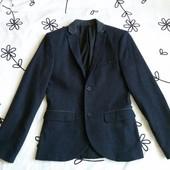 Крутой синий пиджак Topman, размер 36