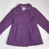 Пальто деми для девочки на рост 110 см (Palomino)