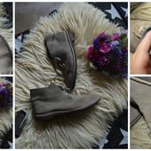Стильные мужские замшевые ботинки Clarks,р-р 45