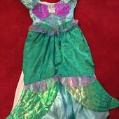 Платье двухсторонне Ариель 7-8 лет
