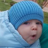 Мериносовый чепчик для новорожденного (под заказ)