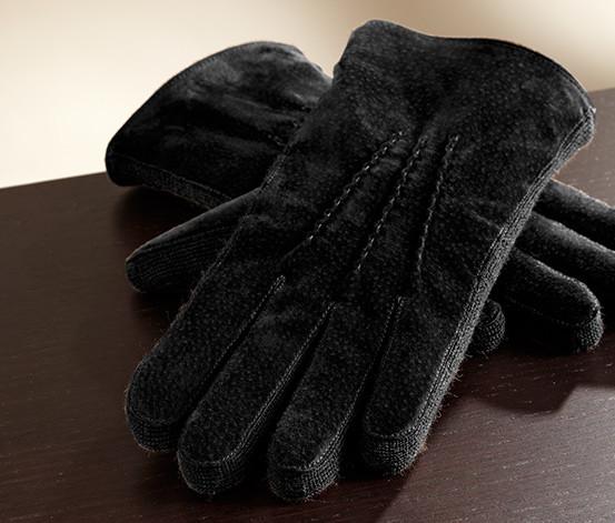 Замшевые мужские перчатки  Tchibo 8,5р. фото №1