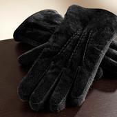 Замшевые мужские перчатки Tchibo 8,5р.