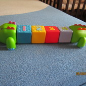 """Интерактивная развивающая игрушка """"Cubic CrocoBloco"""", K's Kids"""