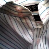 Рубашка муж.р. 18, ворот 46 см.