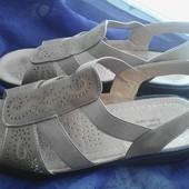 Качественные женские босоножки сандалии Cushion-Walk  Германия, ст-26,5 см