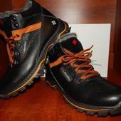 Мужские кожаные зимние ботинки Columbia 41 размер