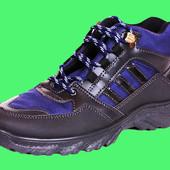 Мужские ботинки Kindzer черно-синие 40