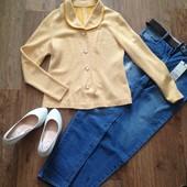 Пиджак ретро, без подкладки, размер 44-46, М (не секонд)