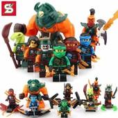 Нинзя, Нинзяго,  Ninja Minifigures, Нинзяго минифигурки совместимые с Лего