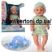 Пупс Baby born малятко немовлятко BL018E