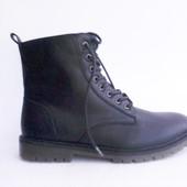 43 р Распродажа Мягкие немецкие деми ботинки, новые от C&A
