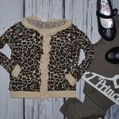 H&M Нежная кофточка джемпер болеро леопард 1 - 2 года 92 см