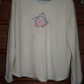 Реглан флисовый,пижамный, женский, размер L