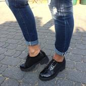 Туфли женские-лоферы