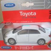 Машинка металл Toyota '09 Corolla Welly