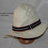 Стильная летняя шляпа. Состояние 5+