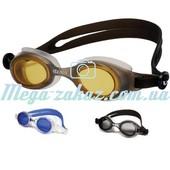 Очки для плавания Волна/Volna Dnestr для частых тренировок: 3 цвета