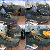 Мужские кожаные кроссовки, два цвета на выбор. Добротная обувь по суперцене