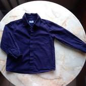 Классическая рубашка на мальчика фирмы F&F на возраст 3-4 года