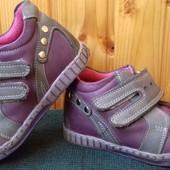 Кожаные демисезонные ботинки Wenice