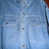 Рубашка джинс. XXL.