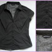 Блузка Marks&Spencer в горошек, размер 10/38/M, хлопок