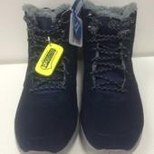 Утепленные мужские ботинки Skechers Go Walk City размеры 39-46