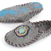 Домашние тапочки мужские с задником Evered эко-войлок Украина