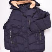 Куртка из плащевки зимняя
