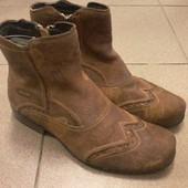 Мужские кожаные ботинки Saccio, р.39,5