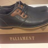 Новые мужские осенние туфли