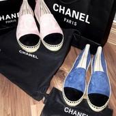 Эспадрильи Chanel.Расспродажа !!!
