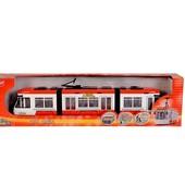 Евро-трамвай Dickie Toys красный и зеленый 46 см