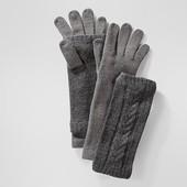 Перчатки с митенками tcm Tchibo Германия