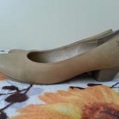 Туфли кожаные, 38 размер, 25 см.