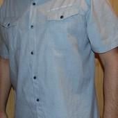 Фирменная стильная брендовая рубашка George.л-хл.