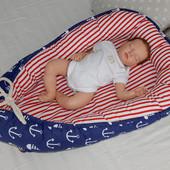 Позиционер для сна младенца, для мальчика. Киев, Оболонь, Украина