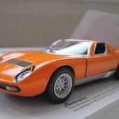 Машинка металл Lamborghini miura p400 sv 1971 kinsmart