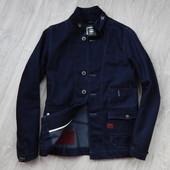 бронь.G-Star Джинсовый пиджак Новый р.S