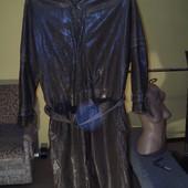 Пальто шкіряне чоловіче велике