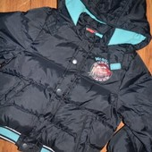 Теплая куртка для мальчика 8 лет. Disney.