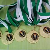 Медалі металічні
