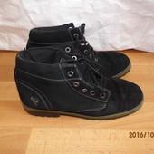(№і65)кожаные ботинки 42 р