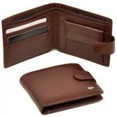 Мужской кожаный кошелек портмоне Dr.Bond натуральная кожа В наличии разные модели