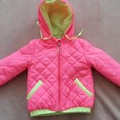 Детская демосезонная куртка 104 размер